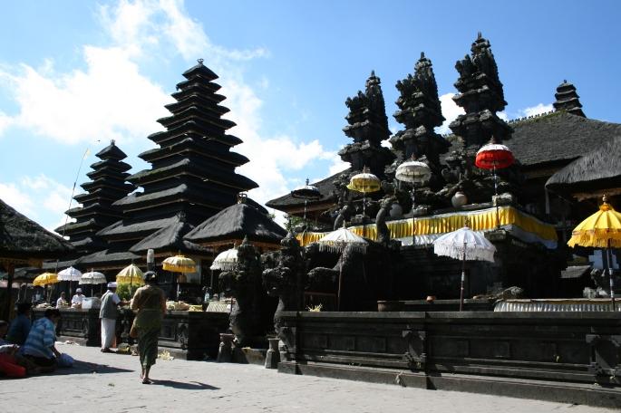 Inner courtyard Pura Besakih